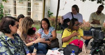 Encontro mulheres-mães do ES com Germana Soares (UMA)